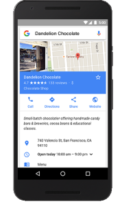 Google Local Business Marketing