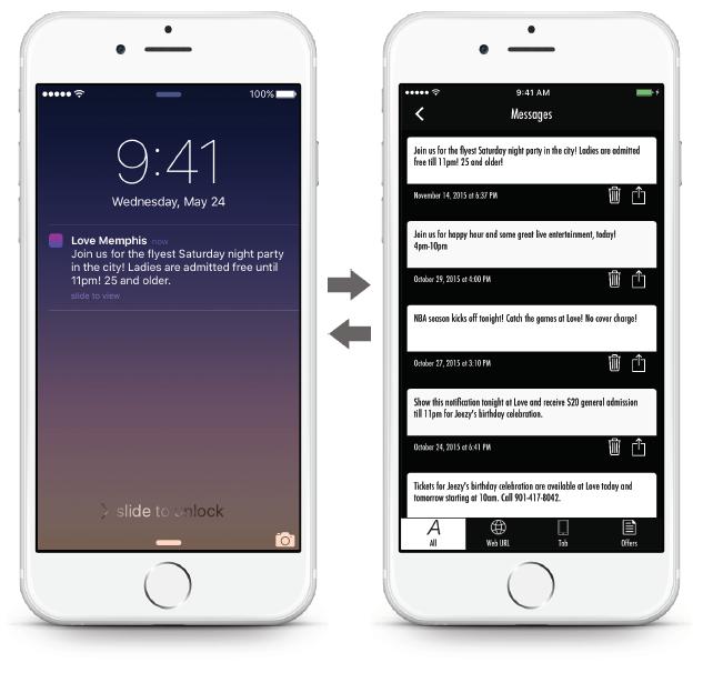 Bar App - Push Notifications