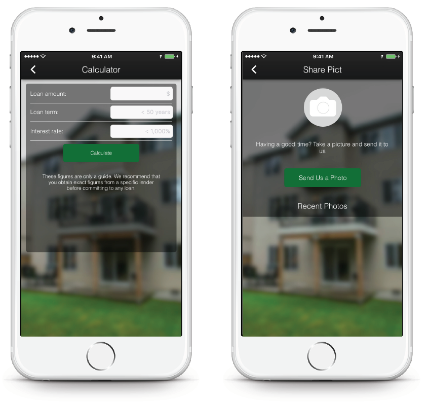 Real Estate App - Pus Mortgage Calculator