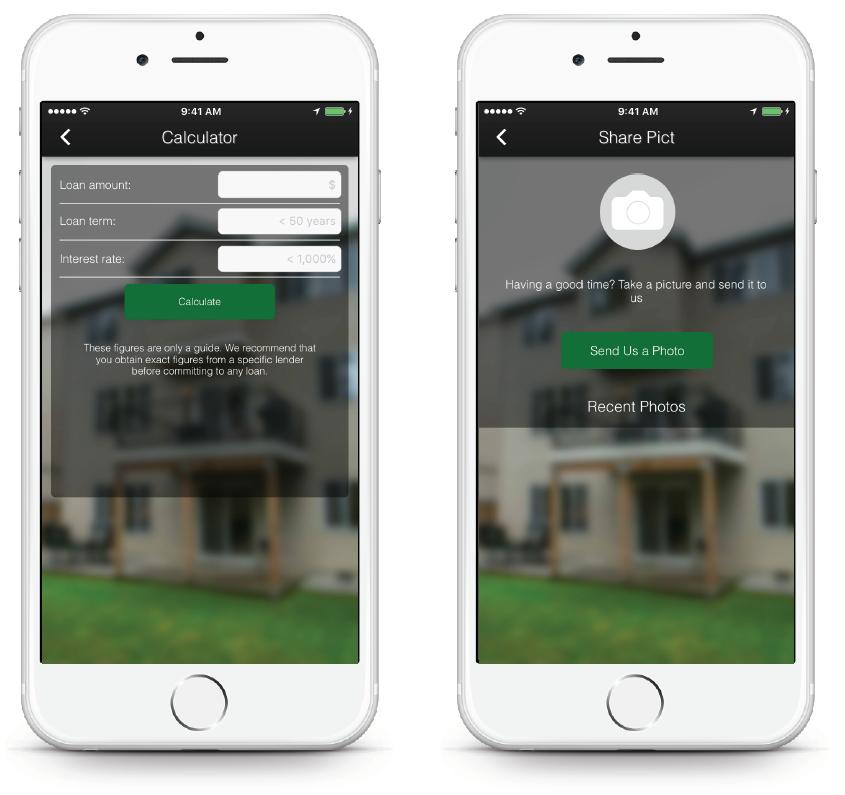 Real Estate App - Pus Mortgage Calculator