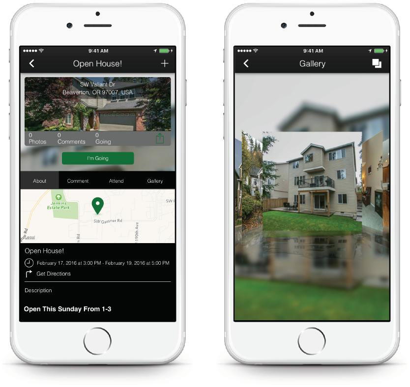 Real Estate App - Pus Open House