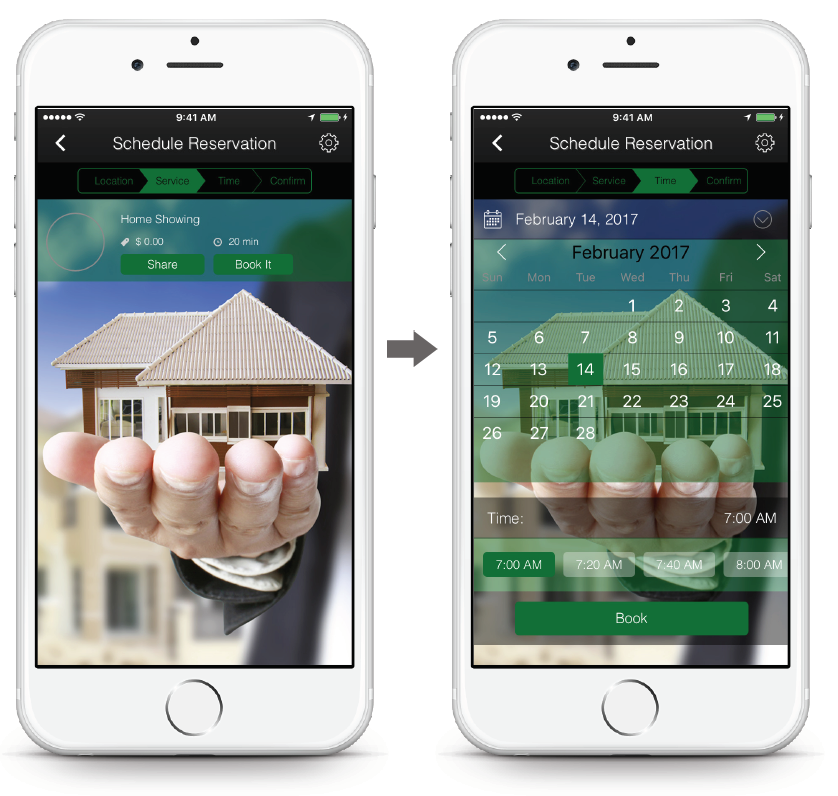Real Estate App - Reservations