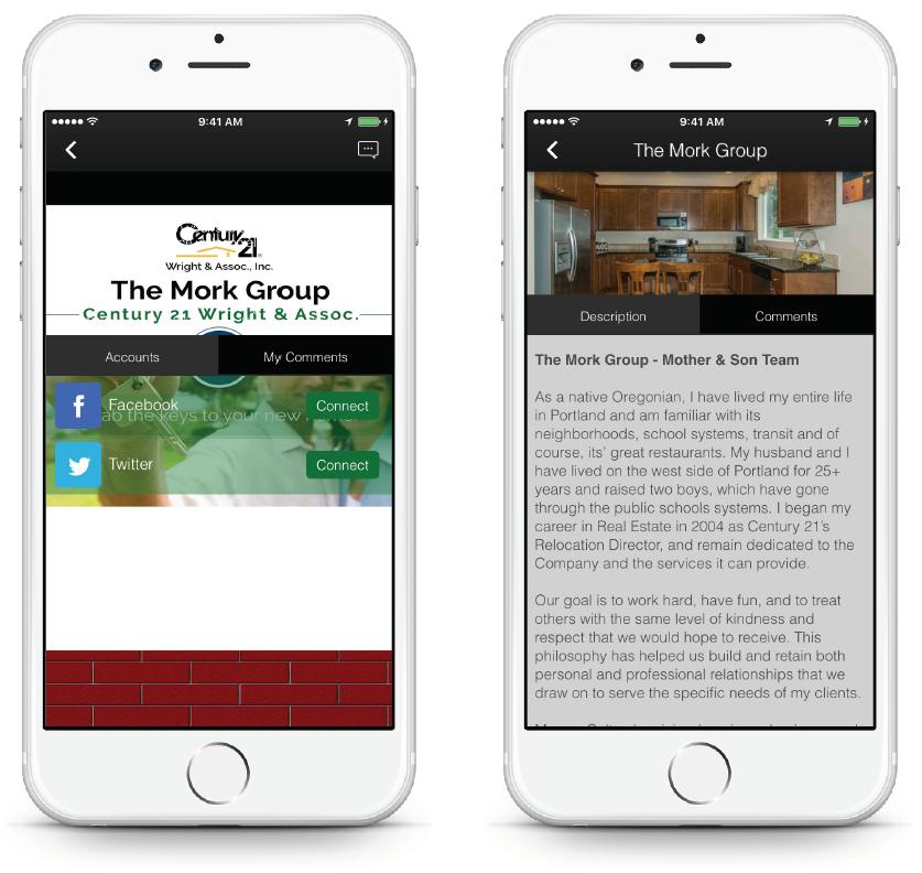 Real Estate App - Social